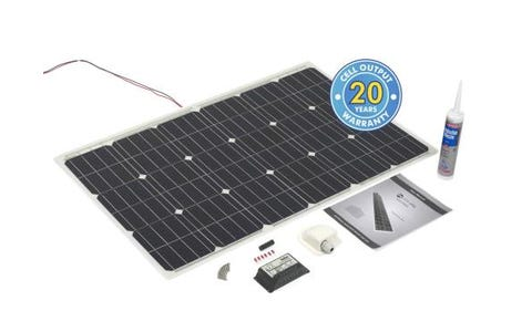 PV Logic 100wp Roof / Deck Top Kit