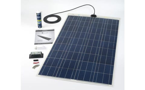 PV Logic 120wp Roof / Deck Top Kit