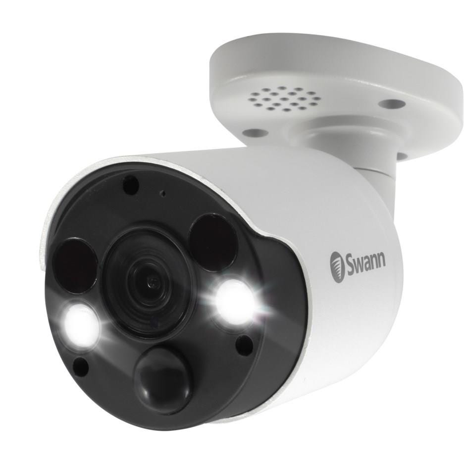 Swann SWNHD-887MSFB-EU Indoor/ Outdoor Wired 4K Ultra HD Night-Vision Security Camera - White