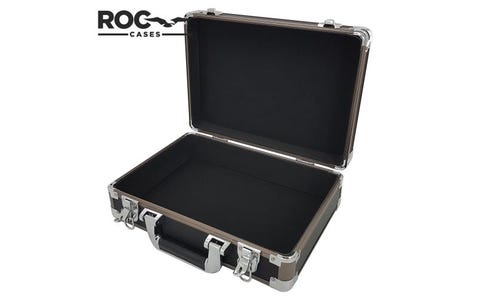 ROC Cases Aluminium Flight Case - Bronze