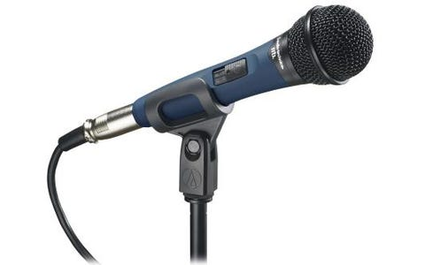 Audio-Technica Handheld Vocal Dynamic Microphone Cardioid Mic with High Output