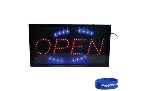 "Altai LED Large ""OPEN"" Sign"