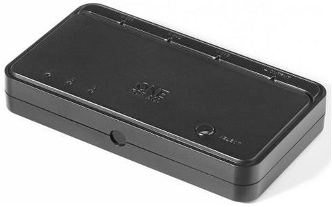 One For All Automatic 3-Port HDMI Switch - Black
