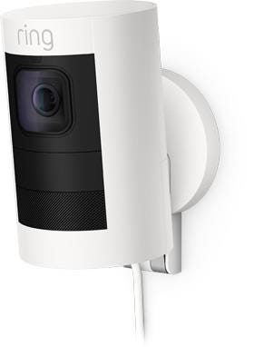 Ring Stick Up Cam Elite Indoor / Outdoor Wireless Full HD Night-Vision Security Camera - White