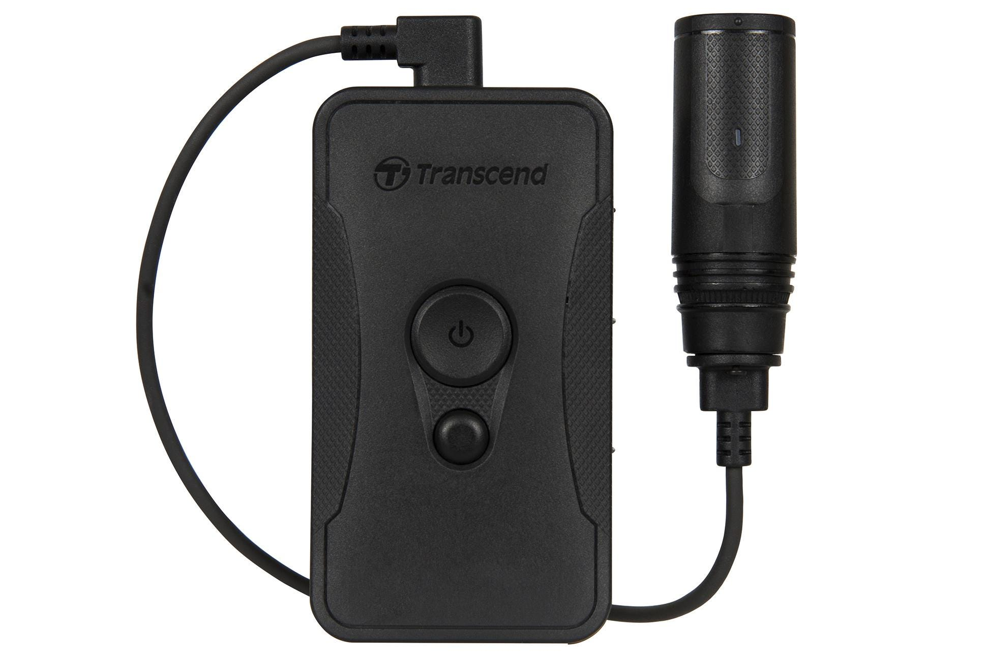 Transcend DrivePro 60 Body Camera with Separate Camera - 64GB, Black