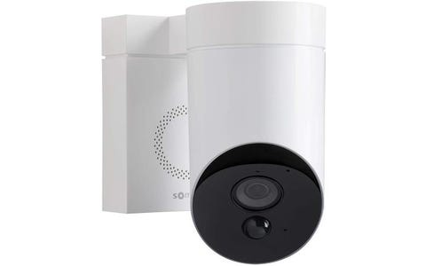 Somfy Outdoor HD Camera for Home Security Systems - White