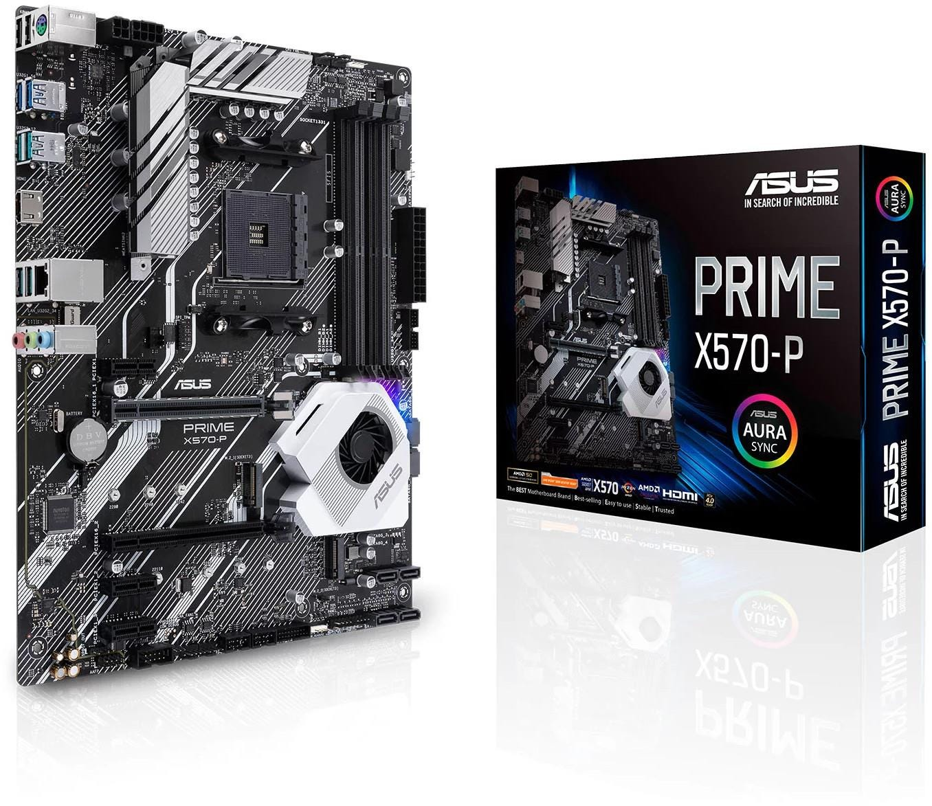 ASUS Prime Pro AMD X570 AM4 DDR4 ATX Motherboard