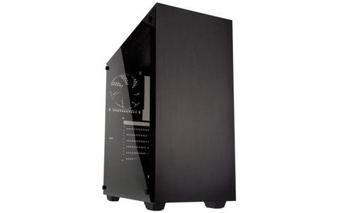 Kolink Stronghold Midi Tower Tempered Glass with Side Window Gaming Case - Black