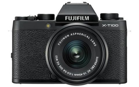 Fujifilm X-T100 Camera XC 15-45mm Black Lens Kit - Black