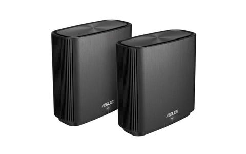 ASUS ZenWiFi CT8 Whole Home WiFi System - Twin Pack, Black