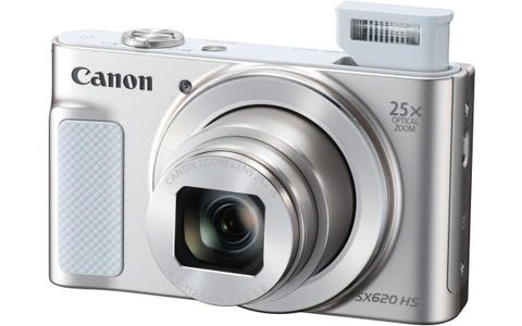 Canon PowerShot SX620 HS 21.1MP 25x Zoom Compact Camera - White