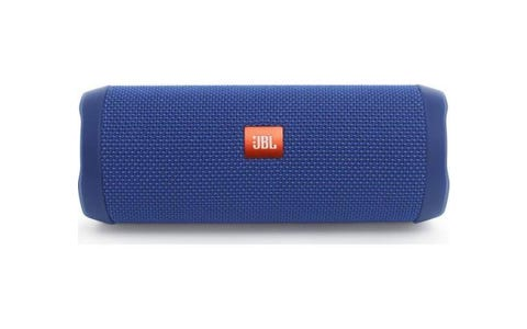 JBL Flip 4 Waterproof Bluetooth Speaker Blue