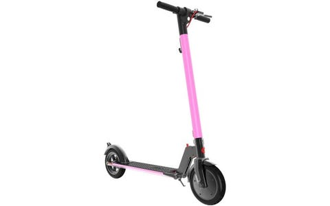 [Like New] Gotrax GXL V2 250W 36v Lithium Folding Electric Scooter - Pink