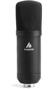 Maono USB Studio Microphone Kit Table Spring Loaded Boom Arm Pop Filter