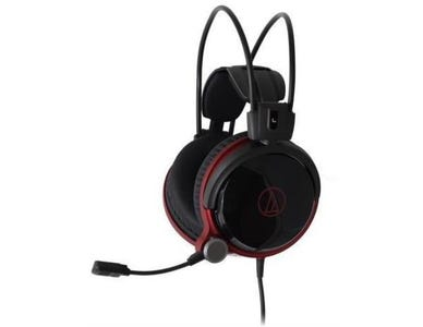 Audio-Technica ATH-AG1X High-Fidelity Closed-Back Gaming Headset - Black
