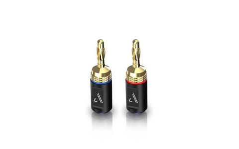 Austere Audio V Series Banana Adapters - Twin Pack