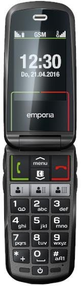 Emporia V99 SELECT 3G Clamshell Mobile Phone - Extra Large Keys    Colour Screen