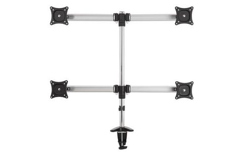 AVF 4 Screen Monitor Mount - Silver