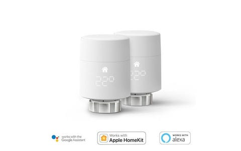 tado° Smart Radiator Thermostat Add-On (Vertical Mounting) - Twin Pack