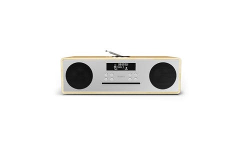 Majority Oakington All-in-One Wireless Radio Stereo - Oak