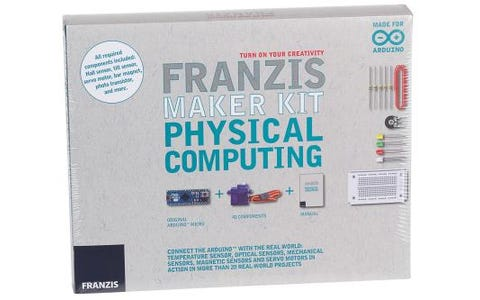 Franzis Create Your Own Physical Computing Project Maker Kit Including Arduino Board