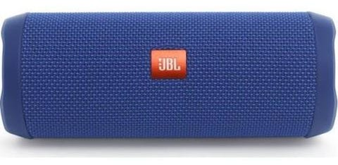 JBL Flip 4 Waterproof Bluetooth Speaker - Blue