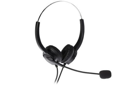 ProSound USB Cabled Headset Stereo Boom Noise Cancellation Microphone