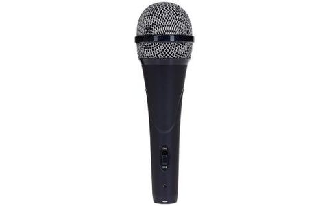 ProSound Dynamic Vocal Microphone 3 Pin XLR to 0.25 inch 2 Pole connector 5m