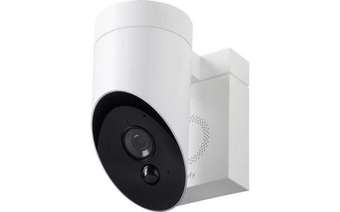 Somfy Outdoor Wireless Full HD Night-Vision Security Camera - White