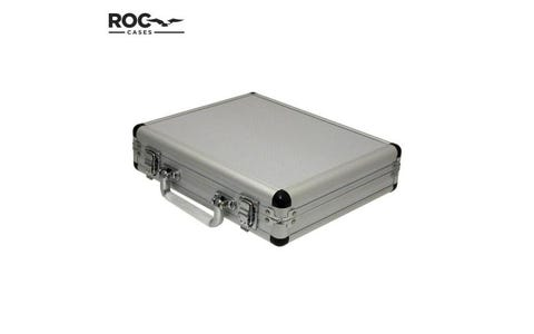 ROC Cases Aluminium Flight Case with Foam Lining - Silver