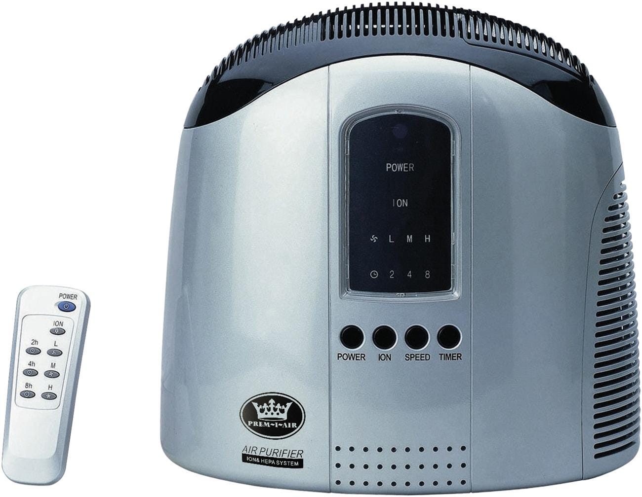 Prem-i-air HEPA Air Purifier with Ioniser and Remote Control