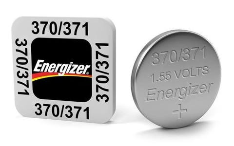 Energizer SR69/S47 370/371 Silver Oxide Coin Button Cell Battery Pack of 10