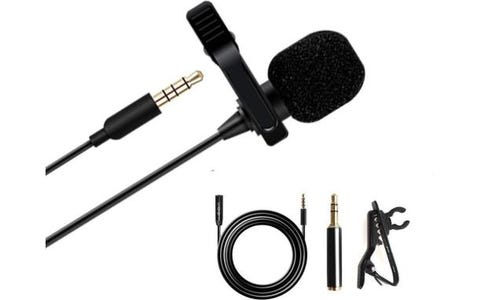 Maono Lavalier Tie-Clip On Lapel (6m) Extension Cable 4 Pole 3.5mm Jack Adapter Microphone
