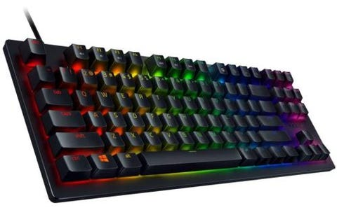 Razer Huntsman Tournament Edition US Layout (ISO) RGB Gaming Keyboard - Black