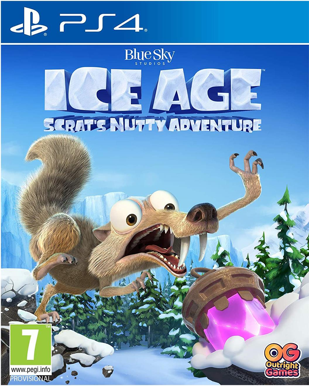 Sony PlayStation 4 Ice Age: Scrat's Nutty Adventure Game