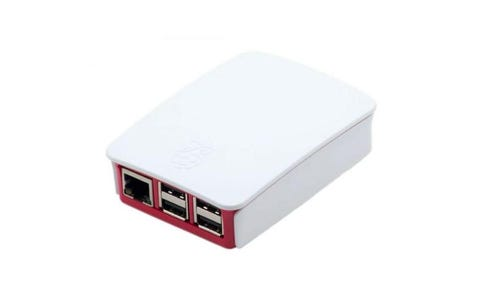 Raspberry Pi Official Protective Case for Raspberry Pi 3 -  Red/White