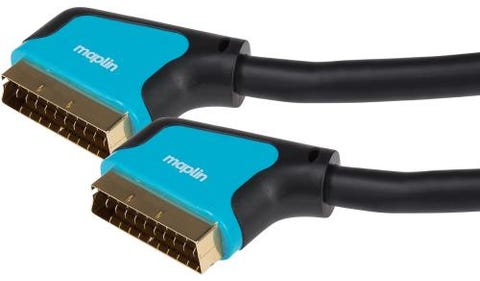 Maplin Premium SCART 21 Pin Connector to SCART 21 Pin Connector Cable (3m)