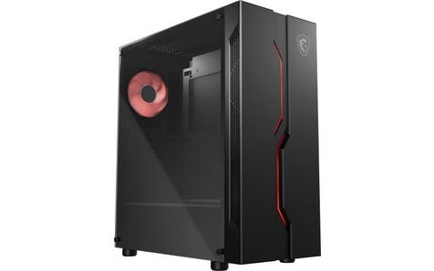 MSI MAG Vampiric 010M Mid Tower Gaming Computer Case - Black