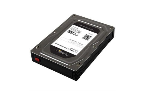"""Startech 2.5"""" to 3.5"""" SATA Aluminum Hard Drive Adapter Enclosure with SSD / HDD"""