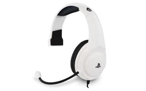 4Gamers PRO4-Chat Officially Licensed Mono Gaming Headset for PS4 - White