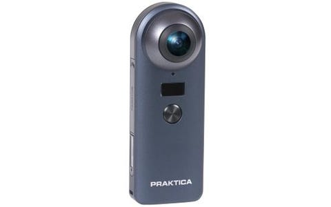 PRAKTICA Luxmedia Z360 360 Digital Camera Bundle with Selfie Stick