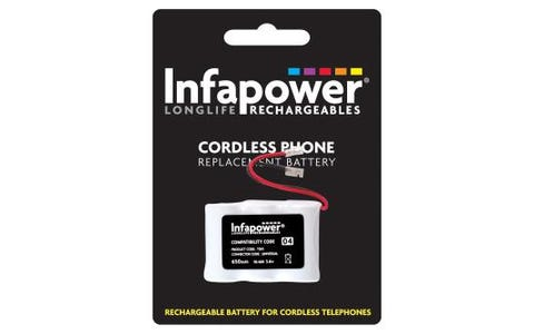 InfaPower Rechargeable Ni-Mh Battery for Cordless Telephones 3x 1/2 - AA pack