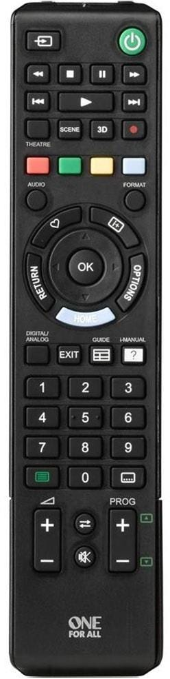 One For All Replacement Sony TV Remote Control