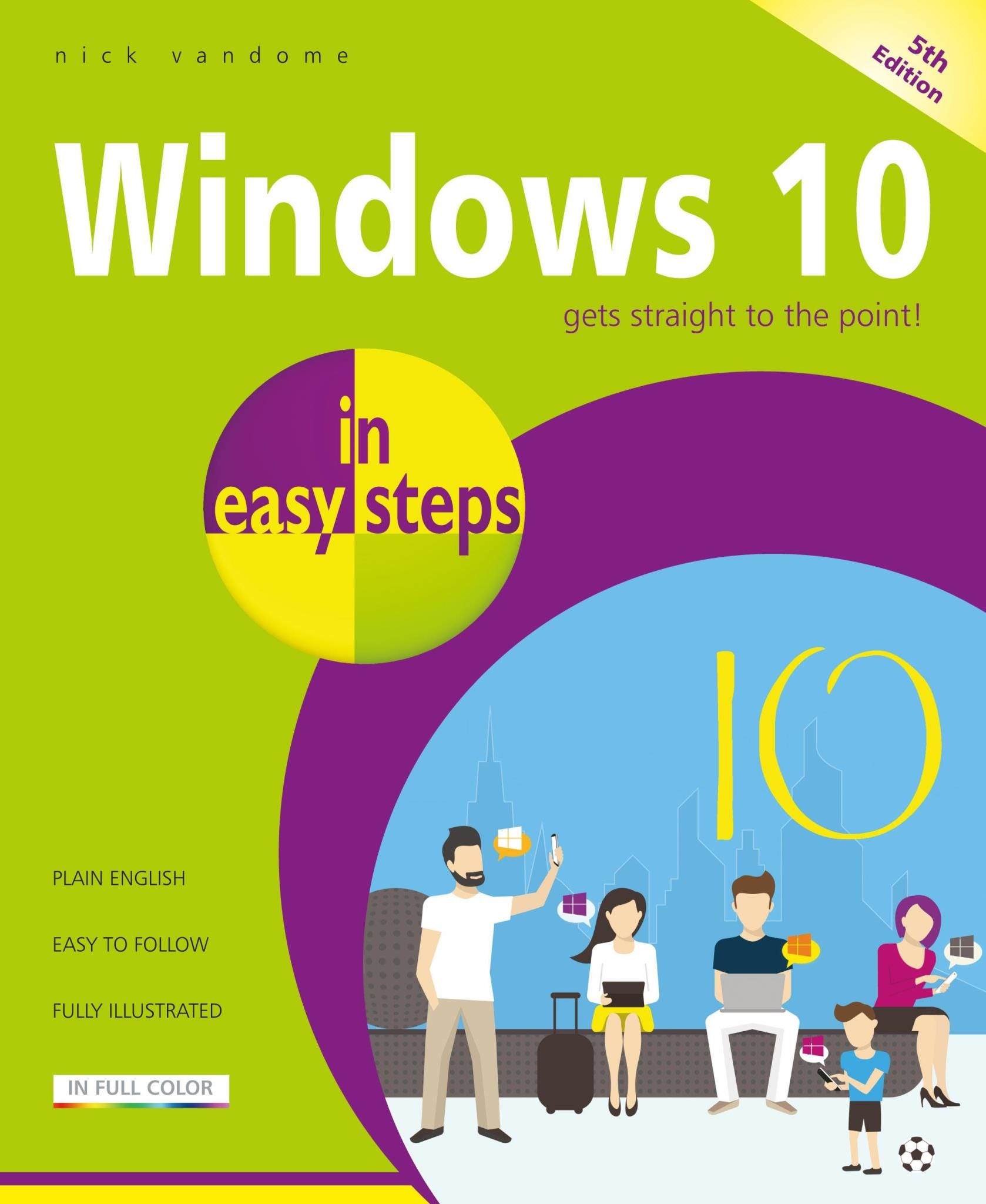 In Easy Steps Windows 10, 5th Edition