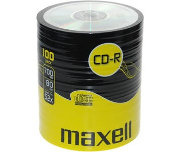 Maxell CDR Shrink Wrap (100 Pack)