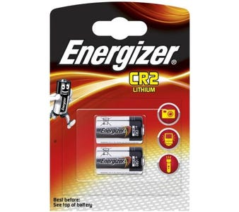 Energizer CR2 Lithium Batteries (Pack of 2)