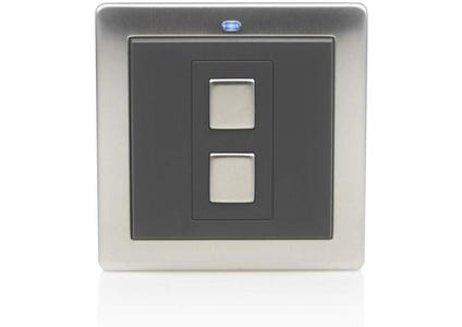 Lightwave Connect Series Wire-Free Switch (1 Gang) - Stainless Steel