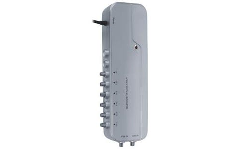 Electrovision 6 Way F Type Signal Booster