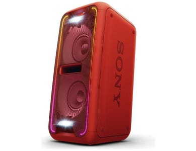 Sony GTK-XB7 High Power Home Audio System with Bluetooth® - Red
