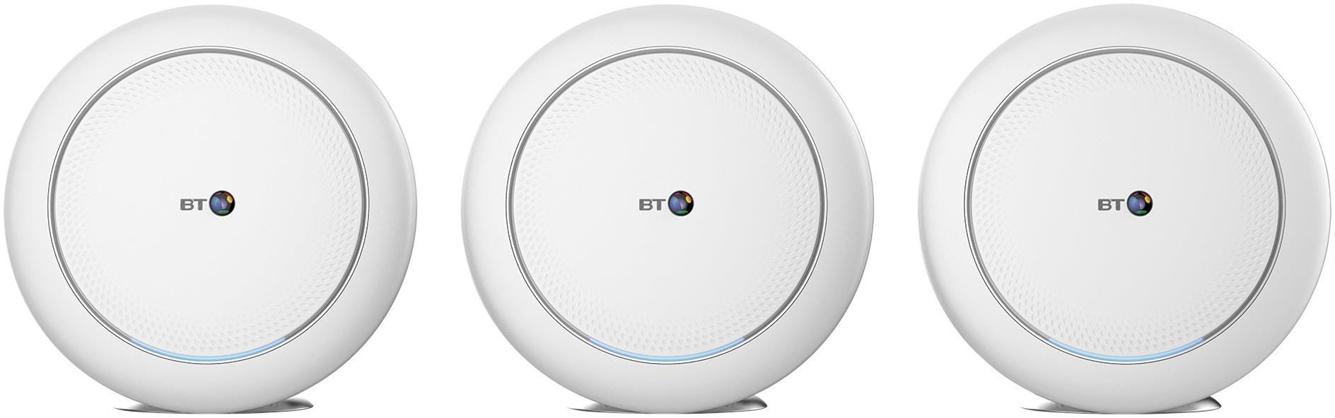 BT Mini Whole Home WiFi System - Triple Pack